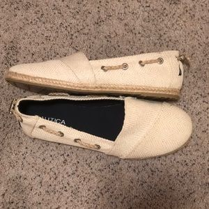 Nautica boat shoes size 8.5